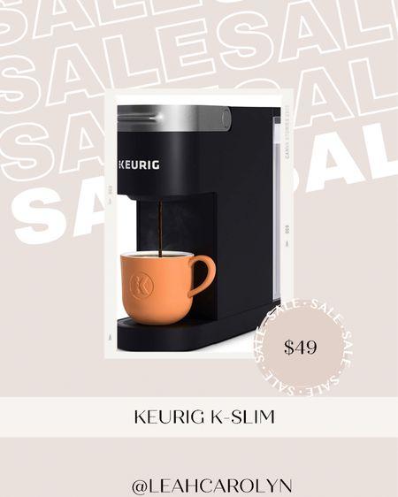 Prime Day Sale! Keurig K-slim coffee maker, great for apartments or dorms. I loved mine in college ✨  #LTKunder50 #LTKhome #LTKsalealert