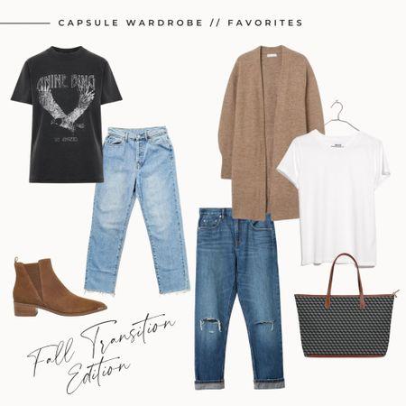 Capsule Wardrobe // Favorites | Fall Transition Edition #liketkit @liketoknow.it http://liketk.it/2X0Rx