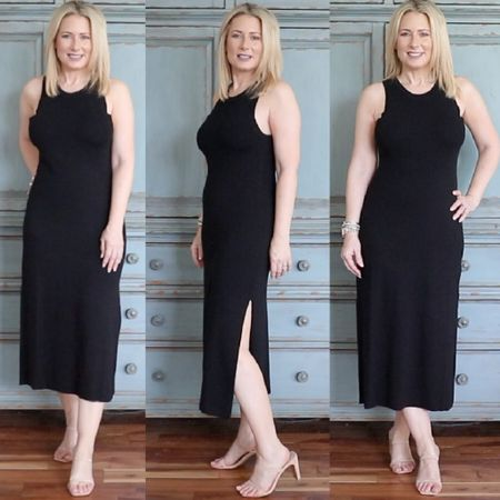 The perfect dress to wear now and well into fall. Wear with a racerback bra or the nipple covers I've linked here. Runs TTS-wearing size small. Wear it into fall with a cardigan or blazer over it and ankle booties.   #amazonfashion #founditonamazon #thedrop #sweaterdress #maxidress #fashionover40 #fashionover50 #LTKunder50 #LTKshoecrush #liketkit @liketoknow.it http://liketk.it/3jSAs
