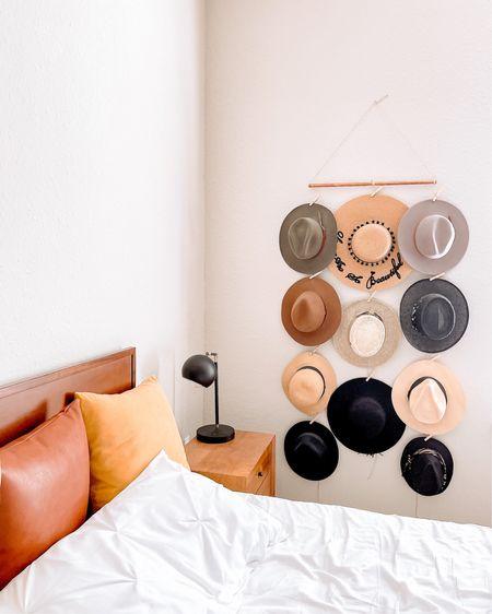 DIY Hat Wall Display Rack ✨👒  http://liketk.it/39NAW @liketoknow.it #liketkit #LTKstyletip #LTKhome #LTKunder50