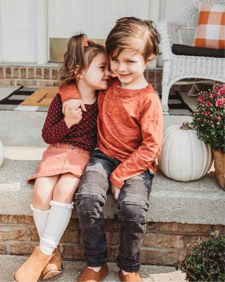 Counting our blessings this fall- our biggest two 🤍🤍🙏🏻🍂 ✨ http://liketk.it/2WVVZ #liketkit @liketoknow.it @liketoknow.it.home @liketoknow.it.family #LTKfamily #LTKkids #LTKhome Love these kids fall outfits!