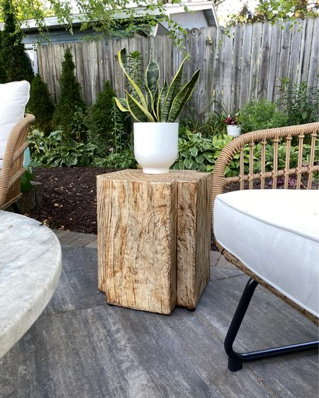 Cute outdoor indoor table by Studio McGee for Target http://liketk.it/3igiz #liketkit @liketoknow.it @liketoknow.it.home #LTKhome #LTKfamily #LTKsalealert