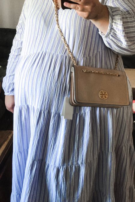 Sharing this plus size friendly crossbody Tory Burch bag from the #nsale! If you've wondered whether or not this best selling Nordstrom Anniversary Sale bag will work for curvy girls, IT DOES!   #LTKsalealert #LTKcurves #LTKitbag