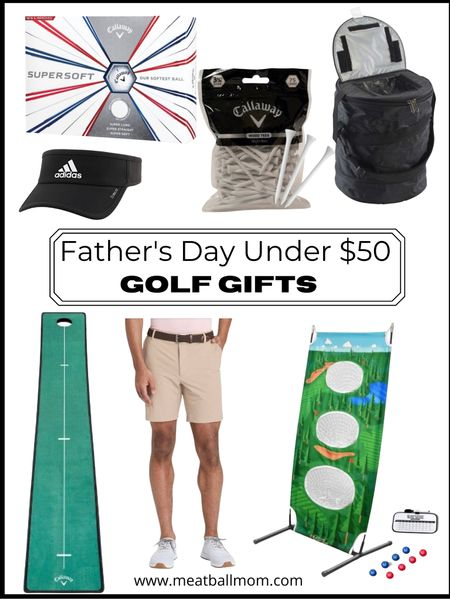 Father's Day gift ideas: golf gifts            Father's Day , Father's Day gift ideas, gifts for him, gifts for men, gifts for dad, golf gifts, target style , target finds, amazon finds  #LTKunder50 #LTKmens #LTKfit