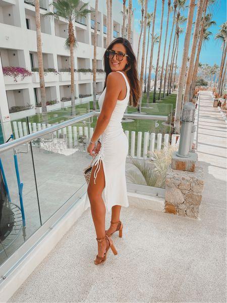Little white dress for brides, beach dress   #LTKswim #LTKtravel #LTKwedding