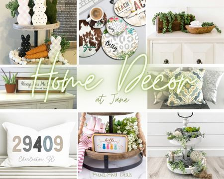 Y'all know that I love to shop Jane! I was thrilled to find a whole section just on home decor! This includes everything from furniture to bedspreads to seasonal decor! So many awesome options, and of course they're all on s@le. Have you checked it out, yet? #LTKhome #LTKSeasonal #LTKfamily http://liketk.it/3aaLM #liketkit @liketoknow.it