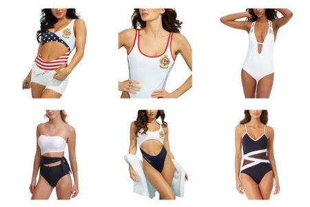 Macy's sale Swimsuits on sale  Vacation outfits Beach outfits One piece swimsuit  Summer outfits    http://liketk.it/3k1Hw #liketkit @liketoknow.it #LTKsalealert #LTKswim #LTKtravel