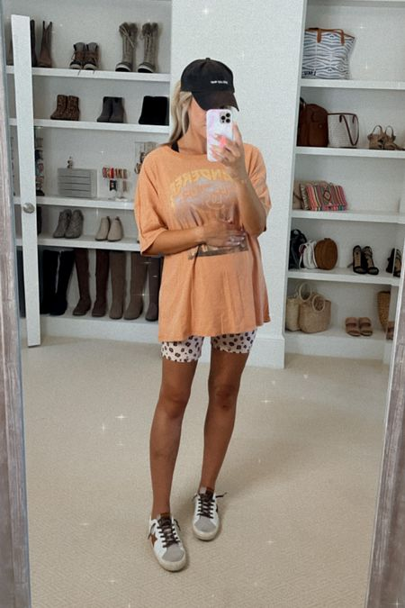 """So soft!! • Color """"Sienna"""" • Wearing size Small (it's oversized fit) so I would say get your true size    #LTKbump #LTKunder50 #LTKstyletip"""