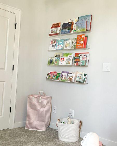 Do I get everything off amazon? It sure feels that way 🤣 hamper and shelves linked. http://liketk.it/3joMa #liketkit @liketoknow.it #amazon #nursery #homedecor #LTKhome #LTKbaby #LTKfamily