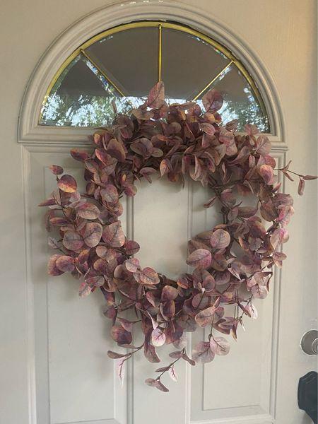 Amazon home decor. Under $20 fall wreath. Fall decor    #LTKhome #LTKSeasonal #LTKunder50