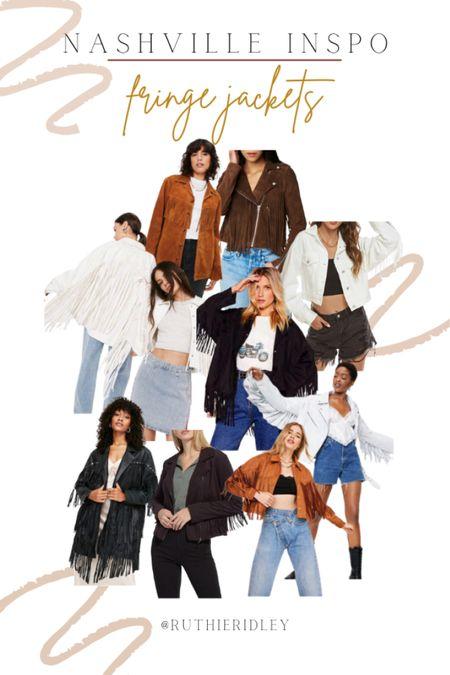 Living the fringe jackets this fall!!   #LTKSeasonal #LTKstyletip