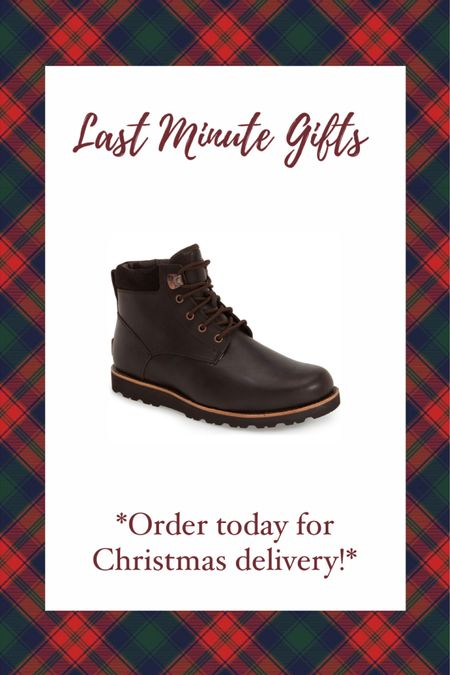 Last minute gift ideas from Nordstrom under $200! These men's Ugg chukka boots are such a great gift idea for him! Gift guide for him— Christmas gift  #liketkit #LTKgiftspo @liketoknow.it http://liketk.it/34ggj