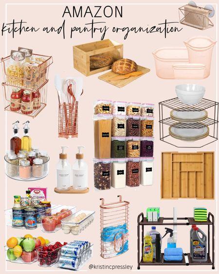 Amazon kitchen and pantry organization picks   #LTKunder100 #LTKhome #LTKstyletip