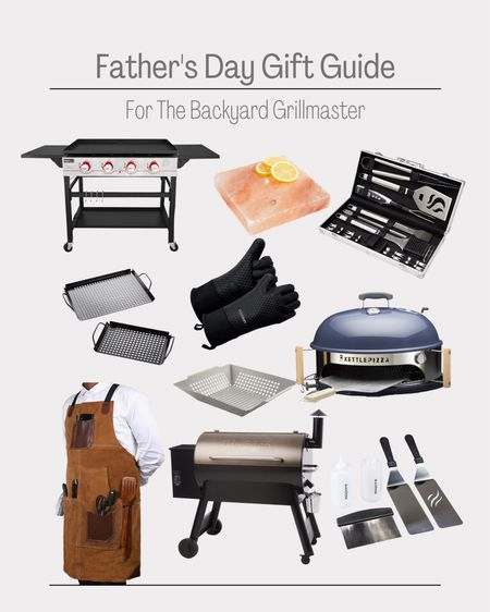 Father's Day gift ideas.   Gift Guide Gifts for dad Bbq   #LTKmens #LTKSeasonal #LTKunder50