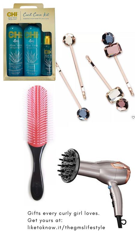 Gifts every girl with curls, kinks or coils will love.  http://liketk.it/32ciG   @liketoknow.it #liketkit #LTKgiftspo #LTKsalealert #LTKunder50 #LTKunder100 #LTKbeauty #holidaygiftideas #curlyhair #naturalhair #giftguides