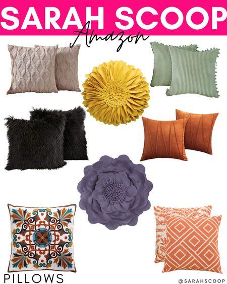 These Amazon pillows are adorable and so colorful to spice up your home! . . .  #amazon #amazonprime #amazondeals #amazonfinds #love #instagram #amazonfashion  #onlineshopping #fashion #amazonseller #amazonfreebies #amazonreviewer #shopping  #LTKhome #LTKstyletip #LTKunder100