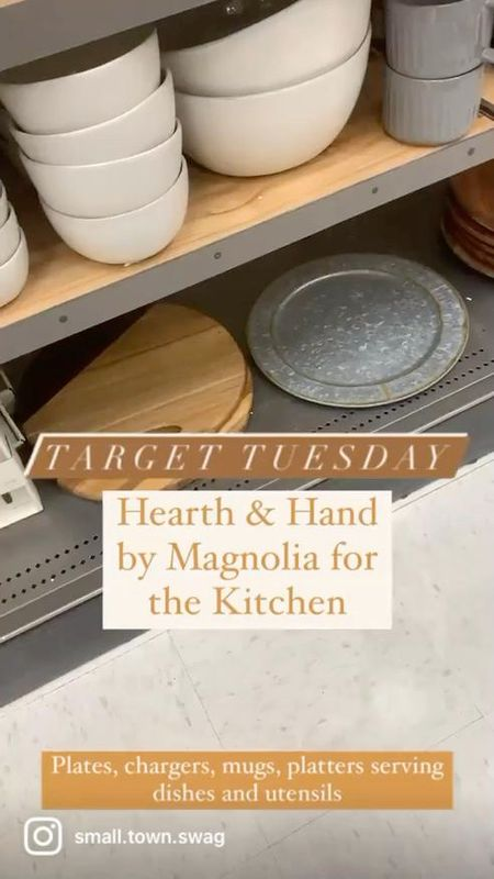 Hearth & Hand finds on this Target Tuesday!  Be sure to follow along with me on Instagram @ small.town.swag if you like what you see here! . . . . . .  Target home // Amazon home // Walmart home // pottery barn dishes // white dishes // dish set // cutting boards // chargers // placemat // placemats // utensil sorter // bakeware // cookie tin // charcuterie board // dining table and chairs Modern // magnolia home hearth hand with target Amazon table chairs dining set lazy Susan coasters bread box dishes dish coffee mugs canisters canister towels sink ceramic bar barstools chair// tablecloth // bowls // cloth napkins // napkins // pot holders // pottery // ceramic dishes // dish set // target dishes // serving bowl // serving plate // salad bowl // appetizer plate // dinner plate // flatware // lazy Susan // modern // modern farmhouse // rustic farmhouse // gray plates // white dishes // gray dishes // black dishes // lazy Susan // target home // target home decor // kitchen // target kitchen // place setting // tableware // table decor // dining room // dining set // outdoor dining // cake stand // farmhouse kitchen // farmhouse // modern farmhouse kitchen // dining // flatware // serving // platter // ceramic dishes // Wood and metal  #LTKhome #LTKunder100 #LTKunder50