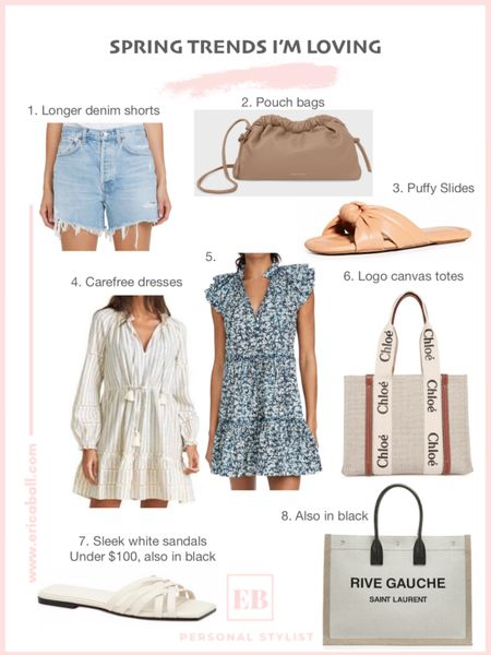 Splurge worthy spring trends from pouch bags to puffy sandals to floral dresses. http://liketk.it/3ee0m #liketkit @liketoknow.it #LTKworkwear #LTKshoecrush #LTKitbag Shop your screenshot of this pic with the LIKEtoKNOW.it shopping app
