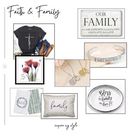 Remember what is important in your life with these beautiful and unique Faith and Family treasures. Jewelry, clothing and home decor from Etsy, Wayfair, and Kirklands. #faith #family #jewelry #homedecor #etsy #wayfair #kirklands #LTKhome @liketoknow.it.home Download the LIKEtoKNOW.it app to shop this pic via screenshot http://liketk.it/2XZQE @liketoknow.it #liketkit