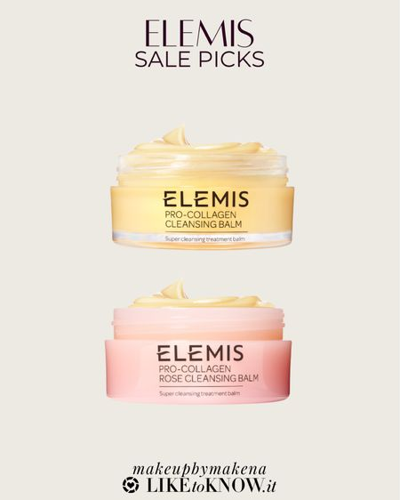 http://liketk.it/3gtKv #liketkit @liketoknow.it #LTKsalealert #LTKbeauty  buy 2 get 1 free on Elemis skincare, including these pro-collagen cleansing balms, with code MEMORIAL during the Memorial Day sale