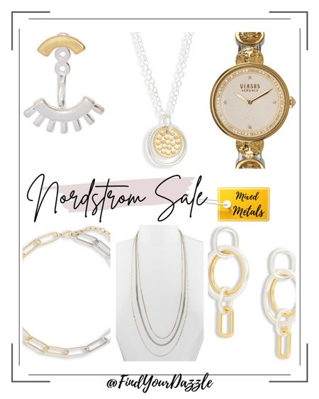 Mixed metal jewelry and accessories from the Nordstrom Anniversary Sale! Loving the combo of gold and silver!    #LTKunder100 #LTKunder50 #LTKsalealert