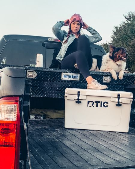 {AD} Since I bought my travel trailer I've been looking for a GOOD but affordable cooler to bring with us on trips. @rticoutdoors is a no brainer! Don't get my started on how easy and lightweight it is for me to carry too! Also a great cooler for me to bring to soccer games and other after school activities. #RTICcoolForSchool #OverbuiltNotOverPriced http://liketk.it/2Xcry #liketkit @liketoknow.it #StayHomeWithLTK #LTKsalealert #LTKtravel