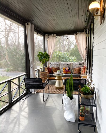 Shop my Porch Refresh for Spring! #LTKSpringSale #LTKhome #LTKstyletip @liketoknow.it.home Shop your screenshot of this pic with the LIKEtoKNOW.it shopping app http://liketk.it/3bO33 #liketkit @liketoknow.it