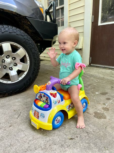 Indi loves this little riding toy!  #LTKbump #LTKfamily #LTKbaby