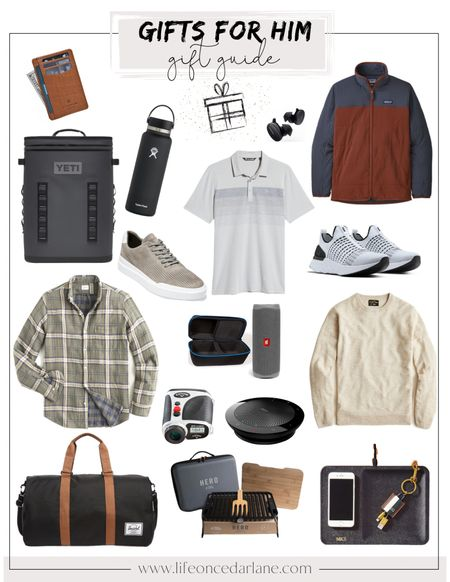 So many great ideas for the men in your life! Shop these finds from Amazon, Backcountry, Nordstrom and more!   #giftguideforhim #giftguideformen  #LTKGiftGuide #LTKHoliday #LTKmens