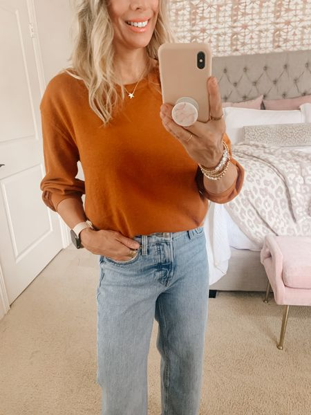 Great Burnt orange color for Fall.    #LTKunder50 #LTKstyletip #LTKsalealert