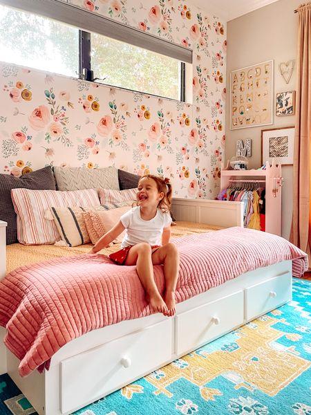 Madeline finally got her big girl bed!   #LTKkids #LTKhome #LTKfamily