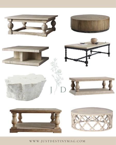 Today I've rounded up some of the dreamiest coffee tables!  Sometimes a new piece of furniture is exactly what is needed to spruce up your home!   #fall #decorating #homedecor #livingroom #coffeetable #familyroom   #LTKhome #LTKstyletip
