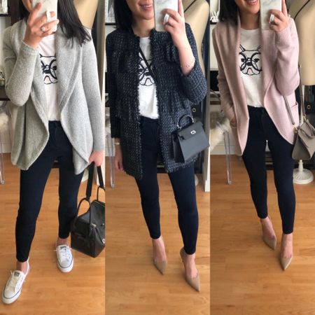 Styling this adorable Frenchie tee 3 ways on www.whatjesswore.com. Exact outfit details on the blog. @liketoknow.it http://liketk.it/2zzo9 #liketkit LOFT #loveloft petite blogger #LTKsalealert #LTKshoecrush #LTKstyletip #LTKitbag #LTKunder50 #LTKunder100