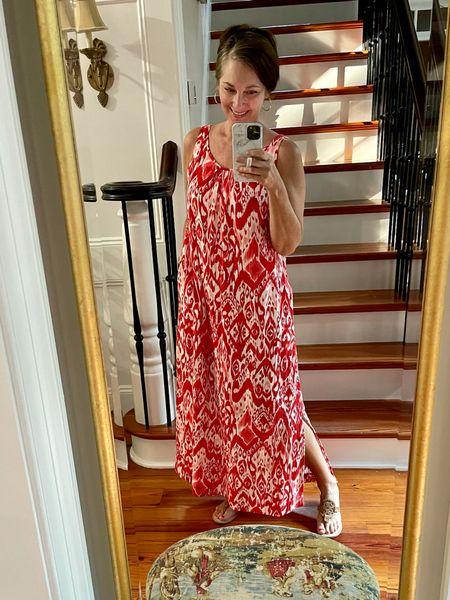 Best summer maxi dress from Chico's!  I'm wearing a size 0.   #LTKsalealert #LTKstyletip #LTKtravel