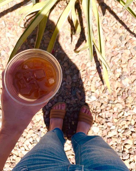 Comfy flat sandals http://liketk.it/3gQhc #liketkit @liketoknow.it #ltksummer