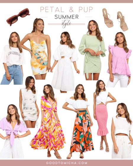 Summer style from Petal & Pup! http://liketk.it/3gf5c #liketkit @liketoknow.it #LTKwedding #LTKstyletip #LTKfit #summerstyle