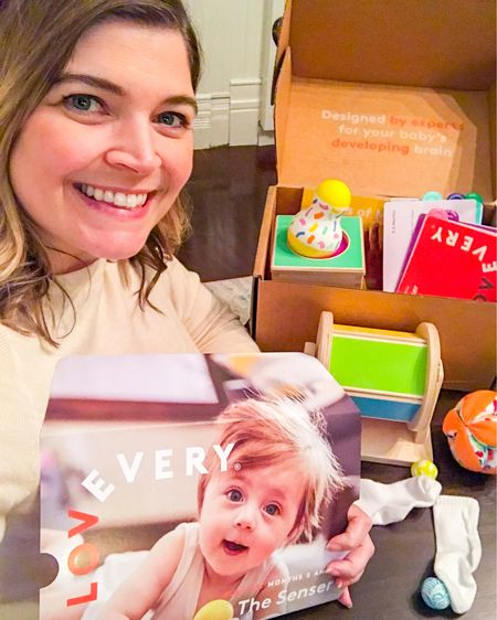 I've been eyeing this company for months and I finally ordered my first play kit. The toys in each play kit are made specifically for the baby's age, and the 5-6 month kit is called The Sensor!   Watch as I unbox all the sensory toys! I'll show you how the girls interact with them in Stories so stay tuned 🌈  Get your kit here: https://shrsl.com/2moe7 #LTKbaby #LTKfamily #LTKkids @liketoknow.it.family http://liketk.it/31Dk8 #liketkit @liketoknow.it   Screenshot this pic to get shoppable product details with the LIKEtoKNOW.it shopping app