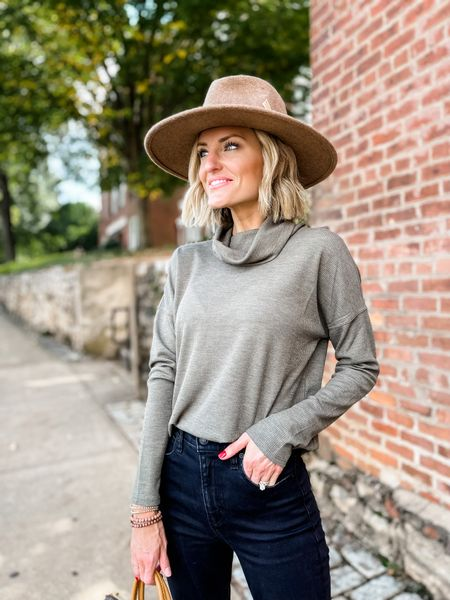 This great Target fall top comes in so many colors and is a perfect fall staple!  #LTKstyletip