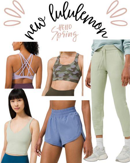 New lululemon spring workout clothes! http://liketk.it/3cmCa #liketkit @liketoknow.it #LTKSpringSale #LTKfit #LTKstyletip