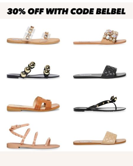 Travel studded sandals //flat sandals 30% off with code belbel http://liketk.it/3hYPa   #liketkit @liketoknow.it #LTKsalealert #LTKshoecrush #LTKunder100