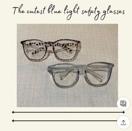 Blue light safety glasses   #LTKworkwear #LTKunder50