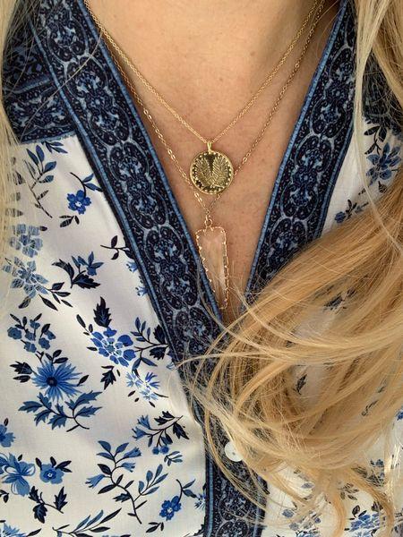 Love these necklaces for fall.     #LTKunder50 #LTKSale #LTKstyletip