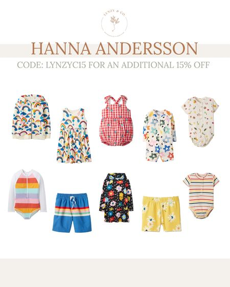 Use the code: LYNZYC15 for an additional 15% off everything at Hanna ANDERSSON!   #LTKfamily #LTKsalealert #LTKkids