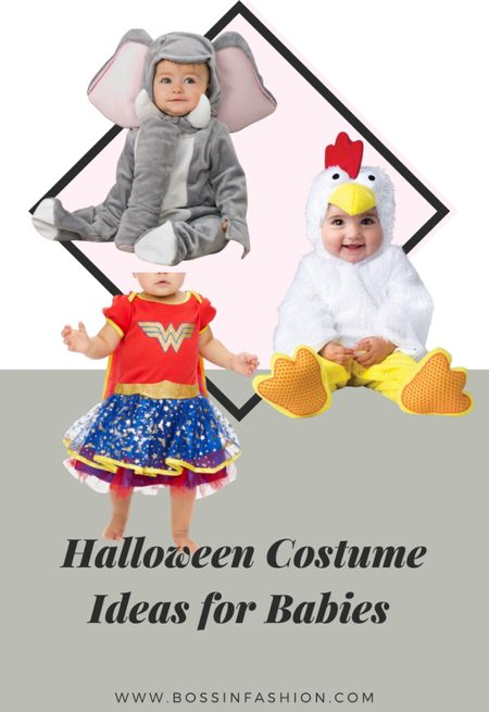 Almost time for Halloween with the babies! Is your toddler or baby about to experience their first Halloween! Shop my favorite Halloween costumes for the babies! #infant #infantcostume #costume #halloweencostume #dressup #toddlercostume #babyoutfit   #LTKfamily #LTKbaby #LTKSeasonal