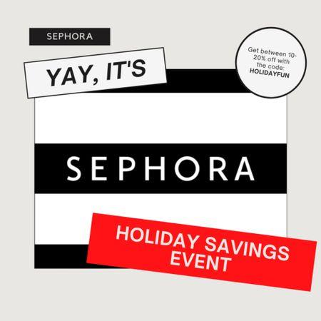 Shop my picks for Sephora's Holiday Savings Event! #LTKsalealert #LTKbeauty #LTKunder50 #liketkit @liketoknow.it http://liketk.it/30A1Q