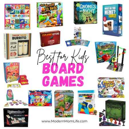 I've tested and played so many board games! It's a tough gig 😜 Check out the best board games for kids that the entire family can play together. Perfect for the cold winter nights cooped up at home. Which games are your favorite? http://liketk.it/344EG #liketkit @liketoknow.it #LTKfamily #StayHomeWithLTK #LTKkids