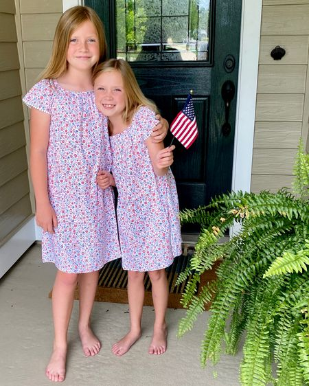 We take Independence Day seriously around here and we have been busy prepping our 4th of July outfits.  This Precious printed short-sleeve midi dress for girls received not just one, but TWO thumbs up!  My girls loved the cap sleeve and the soft, lightweight material.  Added bonus?  The sweet ditsy floral print isn't totally in your face, and will bode well into fall - super cute with a denim jacket or a lightweight cardigan.  Old Navy for the win!  #ltkseasonal #competition #LTKkids #LTKsalealert #liketkit http://liketk.it/3iCkk @liketoknow.it