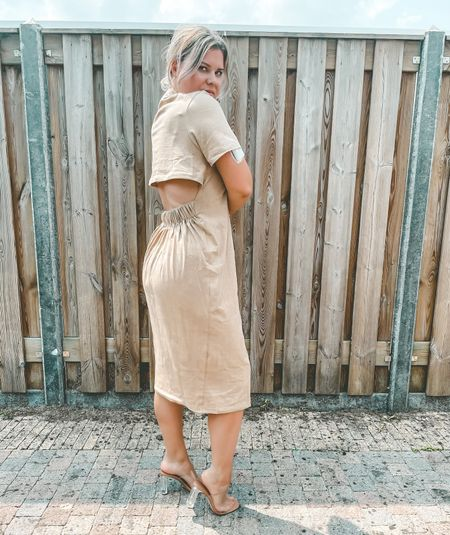 ASOS DESIGN oversized t-shirt dress