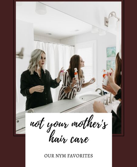 Not your mother's hair products. Hair care. Our favorite hair products. Dry shampoo. Sea salt spray. Affordable haircare. Hair products under $10  #LTKunder50 #LTKbeauty