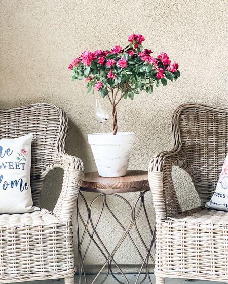 Spring pillow price drop alert!  Flowers.  Pillows.  Outdoor Pillows.  Wicker.  Patio.  Porch.  Spring.  Summer.  Patio Refresh.  Porch Refresh.  http://liketk.it/3ee2x #liketkit #LTKunder50 @liketoknow.it @liketoknow.it.home #LTKhome #LTKsalealert